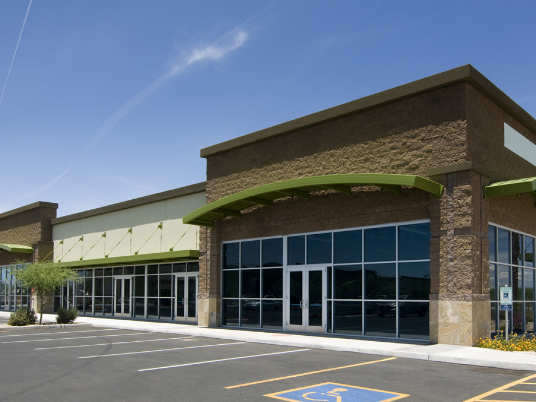 Commercial building painting